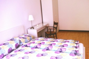 Hostelzimmer Weltenretter im Hubert, Hubertistr. 12